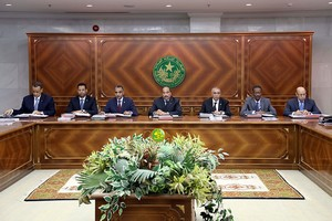Communiqué du Conseil des Ministres du Jeudi 1er Novembre 2018