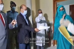 Le ministre mauritanien de la santé :