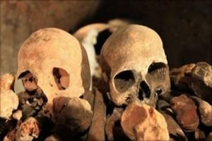 Mystérieuse découverte de la gendarmerie de 15 squelettes humains aux pieds et mains ligotés
