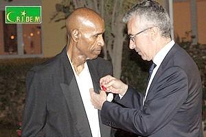 Mauritanie/France. Le Pr Cheikh Saad Bouh Kamara chevalier de la légion d'honneur [PhotoReportage]