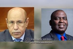 Le président Ghazouani a reçu l'ancien candidat aux élections présidentielles Biram Dah Abeid