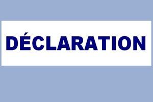 Fondation Sahel : Déclaration