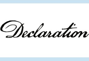 Alliance Électorale de l'Opposition Démocratique: Déclaration de Presse