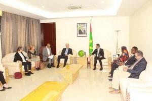 Le PM reçoit une délégation de la commission de coopération économique et de développement au parlement allemand