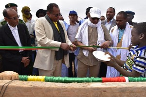 Le DG de Tadamoun inaugure le barrage d'Edebaye Tikaten au Hodh Charghi [PhotoReportage]