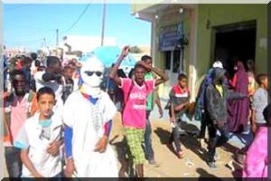 Manifestations violentes et actes de vandalismes à Teyarett