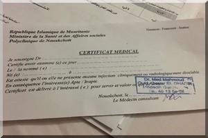 Les médecins demandent une enquête sur les faux certificats médicaux