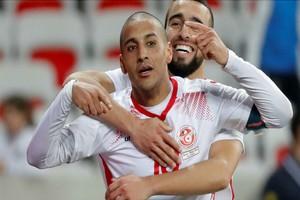 Football/Mondial 2022 - Groupe B de la Mauritanie : la Tunisie gagne le match face à la Zambie (2-0)