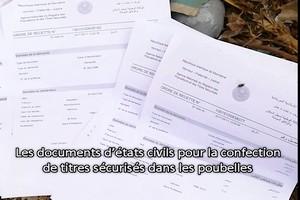 Les centres d'état civil en Mauritanie : corruption et gabegie. Pr ELY Mustapha