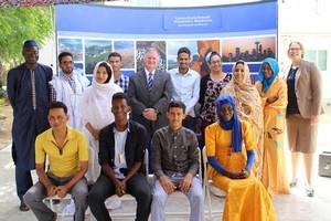 Communiquأ© de Presse : l'Ambassade des Etats-Unis d'Amأ©rique en Mauritanie offre des bourses aux jeunes Mauritaniens