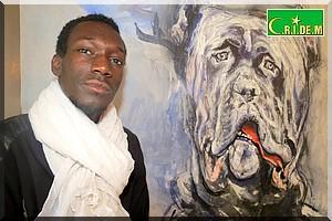 Oumar Ball : Du pinceau à la toile…« Tel père tel fils… ce qui recèle de l'inné n'a rien d'acquis »