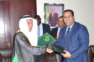 Signature de trois accords de financement entre la Mauritanie et le Fonds saoudien pour le Développement