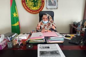 Madame Fatimetou Mint Abdel Malick, présidente du Conseil Régional de Nouakchott : ►