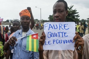 L'opposition togolaise mobilisée dans la rue pour obtenir la démission du président