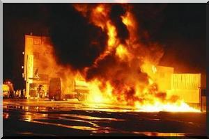 Kiffa: Un magasin de vente de produits alimentaires au marché central prend feu