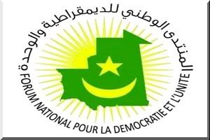 Marche du FNDU : D�claration