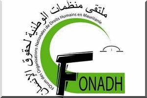 FONADH : Communiqu�