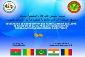 Ouverture à Nouakchott de la conférence des bailleurs de fonds du G5 Sahel