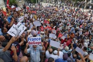Tunisie : manifestation contre le coup de force du président Kais Saied
