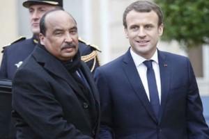 Mauritanie-France : Macron attendu à Nouakchott pour parler antiterrorisme avec Aziz