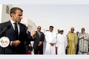 À Nouakchott, le G5 Sahel et Macron affichent de la fermeté face aux jihadistes
