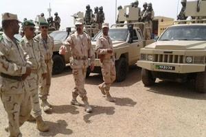 Contrôle de l'opérationnalité du Contigent  mauritanien au sein de la force commune du G5 Sahel