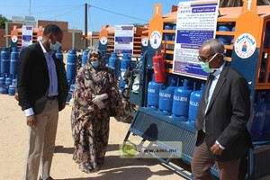 Démarrage du projet employant des jeunes pour l'approvisionnement des foyers en gaz butane