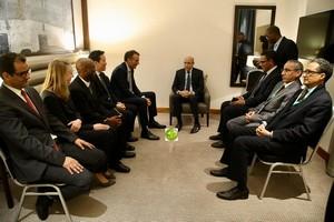 Le Président de la République reçoit le Président- Directeur Général du Groupe BP