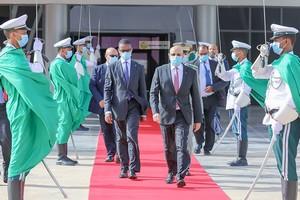 Départ du Président de la République pour la Guinée Bissau