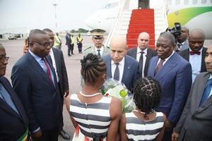 Arrivée du Président de la République à Brazzaville pour participer à un sommet sur la Libye