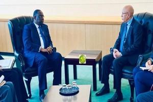 Macky Sall en Mauritanie pour une visite officielle de 48 heures