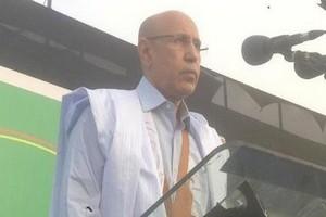 Le candidat Ghazouani au site maurinews.info :