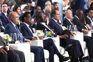 Ouverture du forum Afrique-Russie en présence du Président de la République