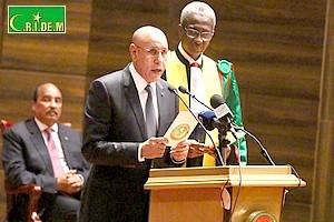 Mauritanie: le nouveau président Ghazouani a prêté serment [Vidéo & PhotoReportage]