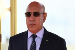 Ould Ghazouani aux États-unis