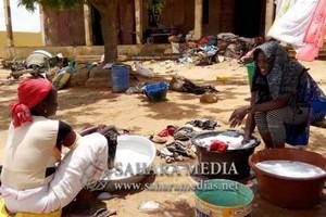 Gorgol : des habitations partiellement détruites dans des localités relevant de Kaédi