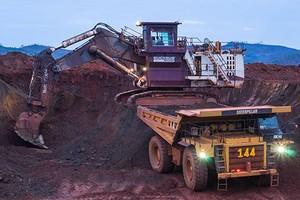 Grève dans une mine de la SNIM
