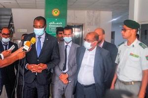 Le ministre de l'Habitat supervise l'opération de tirage du nouveau plan directeur de Nouakchott