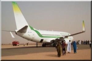 Un handicap moteur bloque un avion de la MAI à l'aéroport de Zouerate