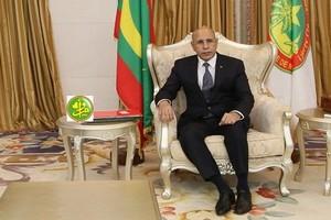 Ce que se sont dits le président de la république et les représentants de la colonie mauritanienne aux USA