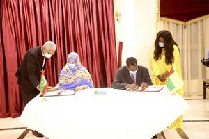 Nouakchott et Bissau signent un accord de coopération commerciale et industrielle
