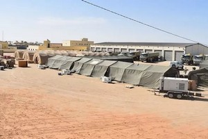Installation à Nouakchott d'un hôpital de campagne réservé aux malades du coronavirus