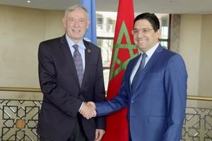 L'envoyé spécial de l'ONU pour le Sahara reçu à Rabat