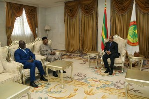 Mohamed Ibn Chambas achève une visite de trois jours en Mauritanie (Communiqué)