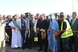 Le Président de la République inaugure le port de Tanit pour la pêche artisanale