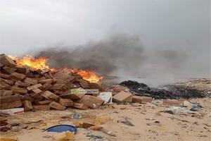 Nouadhibou : Incinération de 27 tonnes de médicaments périmés