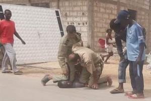 Mauritanie: La photo de l'arrestation du