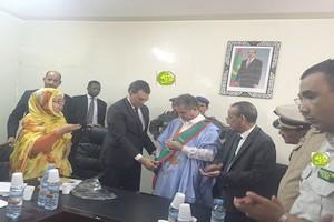 Ould Bellal appelle à confier la propreté  de Nouadhibou à la commune après l'échec de la Zone franche