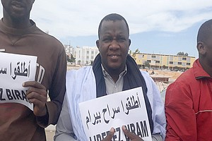 Communiqué de presse d'IRA-Mauritanie [PhotoReportage]