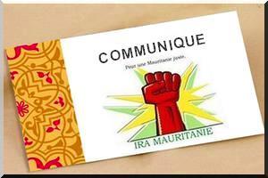 Déclaration  La Banque Société Générale – Mauritanie S.A. complice du système féodal et raciste